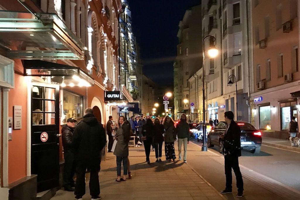 Остерегайтесь гулять по ночной Москве
